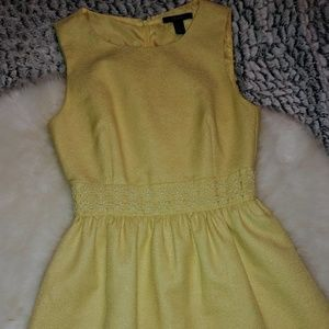 Yellow Daisy Forever 21 Dress